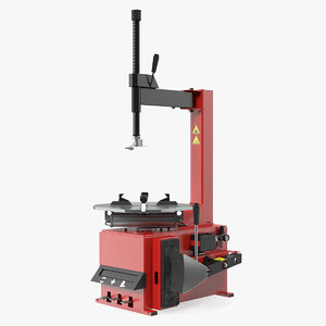 semi-automatic tyre changer auto 3D