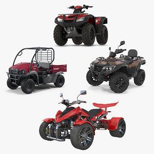 atv wheelers 2 3D model