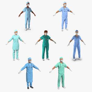 doctors 2 3D model