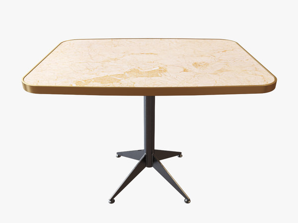 3D square dining table