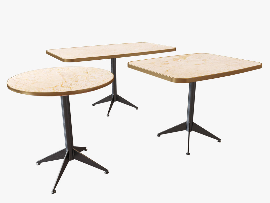 3D table ring square model