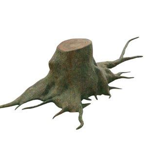 pbr root 3D