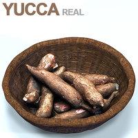 basket yucca 3D model