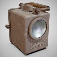 1950s wonder agral lamp 3D