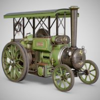 Steam Tractor - Aveling Barford