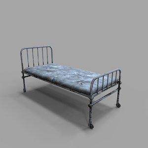 3D old medial bed model