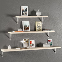 3D wall decorative set shelves model