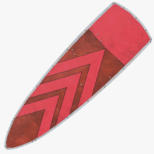 3D kite shield 01