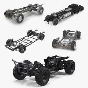 3D vehicle chassis 5