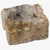 3D brick piece 13 model