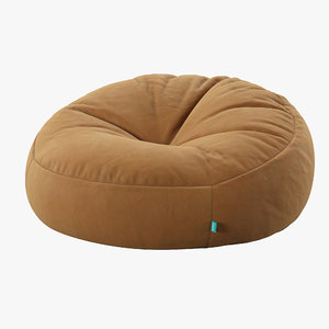 3D bean bag chair