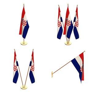 flag 3D