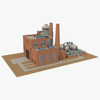 factory building model