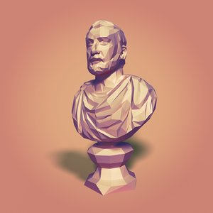 bust greek 3D model