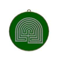 labyrinth symbol 3D