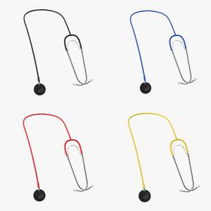 3D stethoscope 2 model