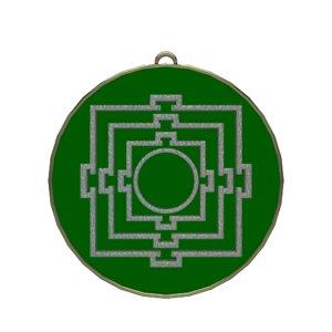 3D mandala symbol