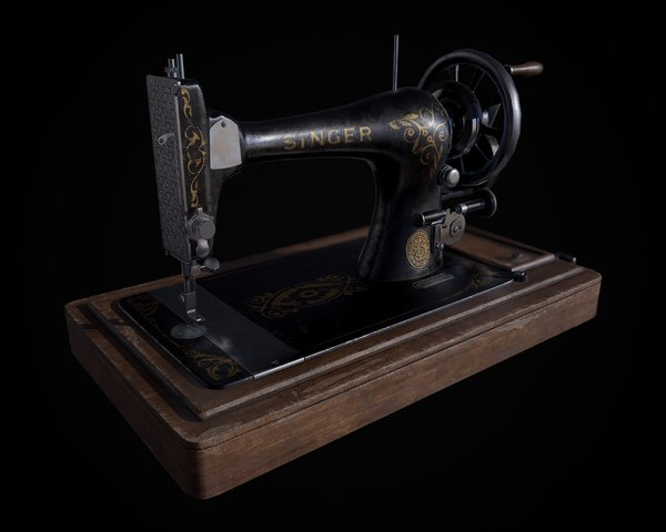 Sewing Machine 3D Models for Download | TurboSquid