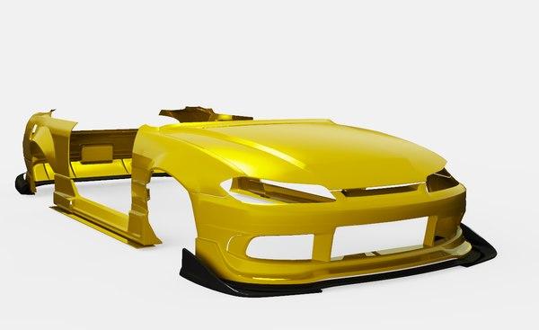 body kit origin labo 3D model