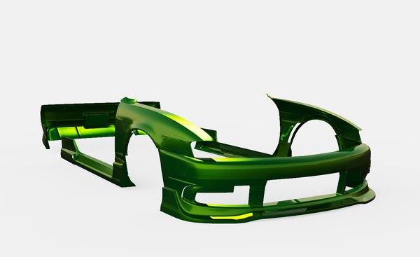 3D model body kit origin labo