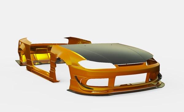3D body kit origin labo