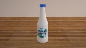 3D buttermilk milk pack
