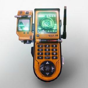 ready 3 device 3D model