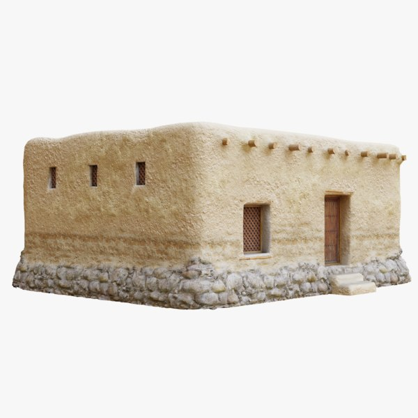 old arabic islamic house model