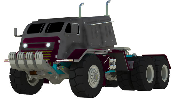 giant war truk 3D model