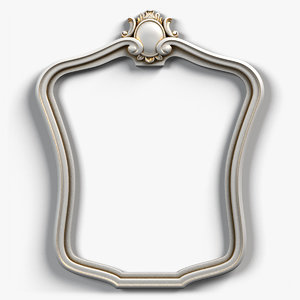 picture frame 3d max