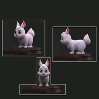 rabbit bunny 3D