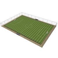 3D model football field