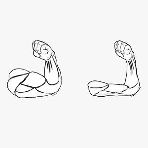 3D strong hand