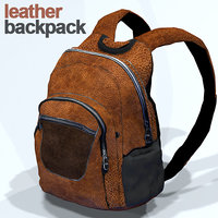 Leatherd backpack HD