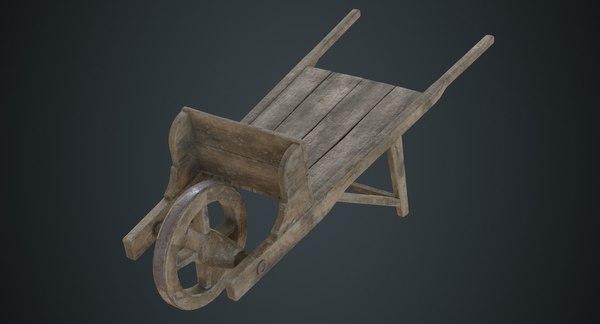 3D wheelbarrow 2b