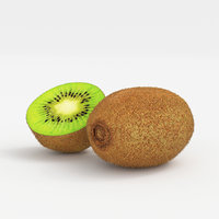 3D realistic kiwi fruit model