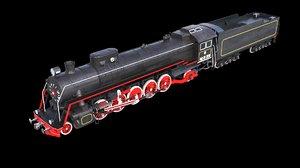 soviet locomotive fd 3D