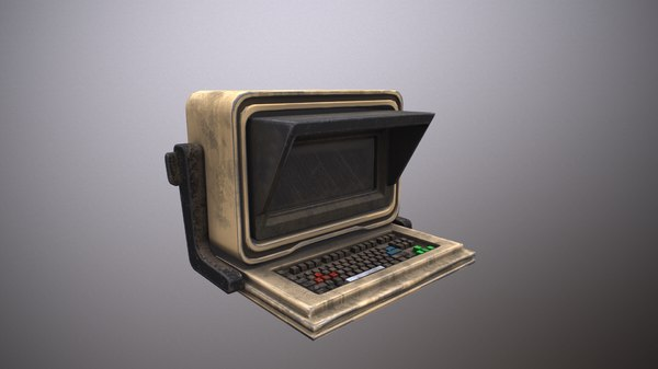 3D sci-fi computer