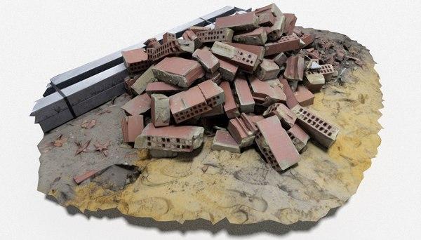 brick pile 6 model