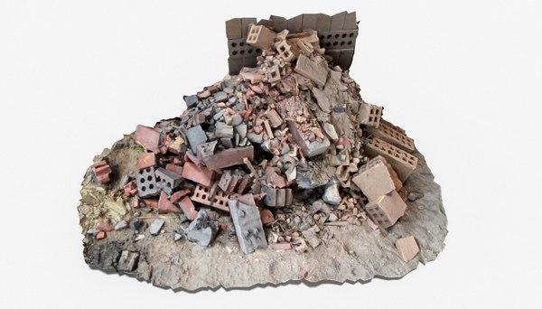 brick pile 7 3D model