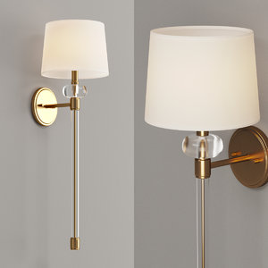 sconce augusta wall 3D model