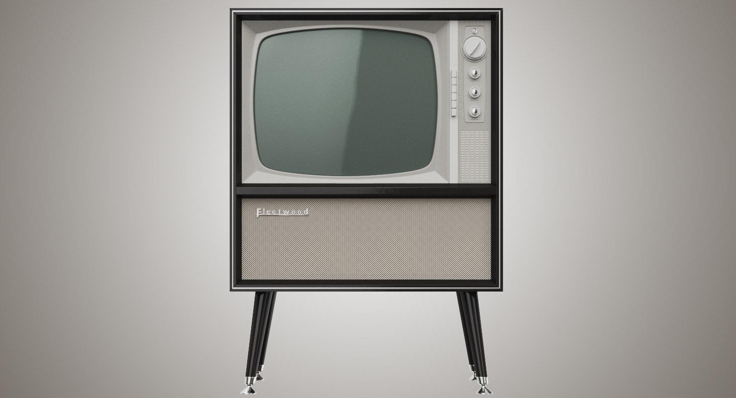 fleetwood television circa 1960 model