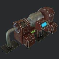 3D model ready pbr