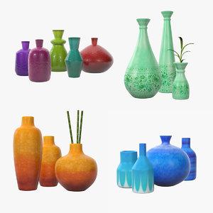32 vases 3D