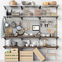 rack kitchen 3D model