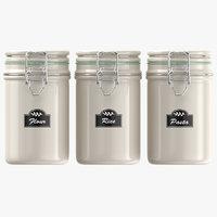 real kitchen jars model