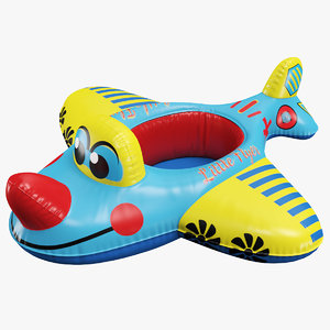 3D airplane baby swimming pool