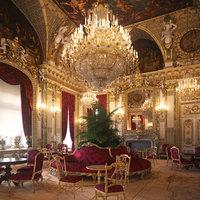 3D scene napoleon iii apartment