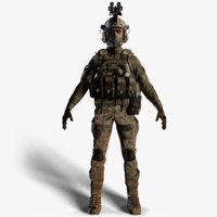 special force soldier 3D