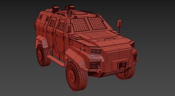 military car 3D